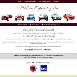 MGB 5 Speed Gearbox Conversion Kit   Hi-Gear Engineering Ltd
